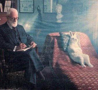 Easter bunny visits Freud